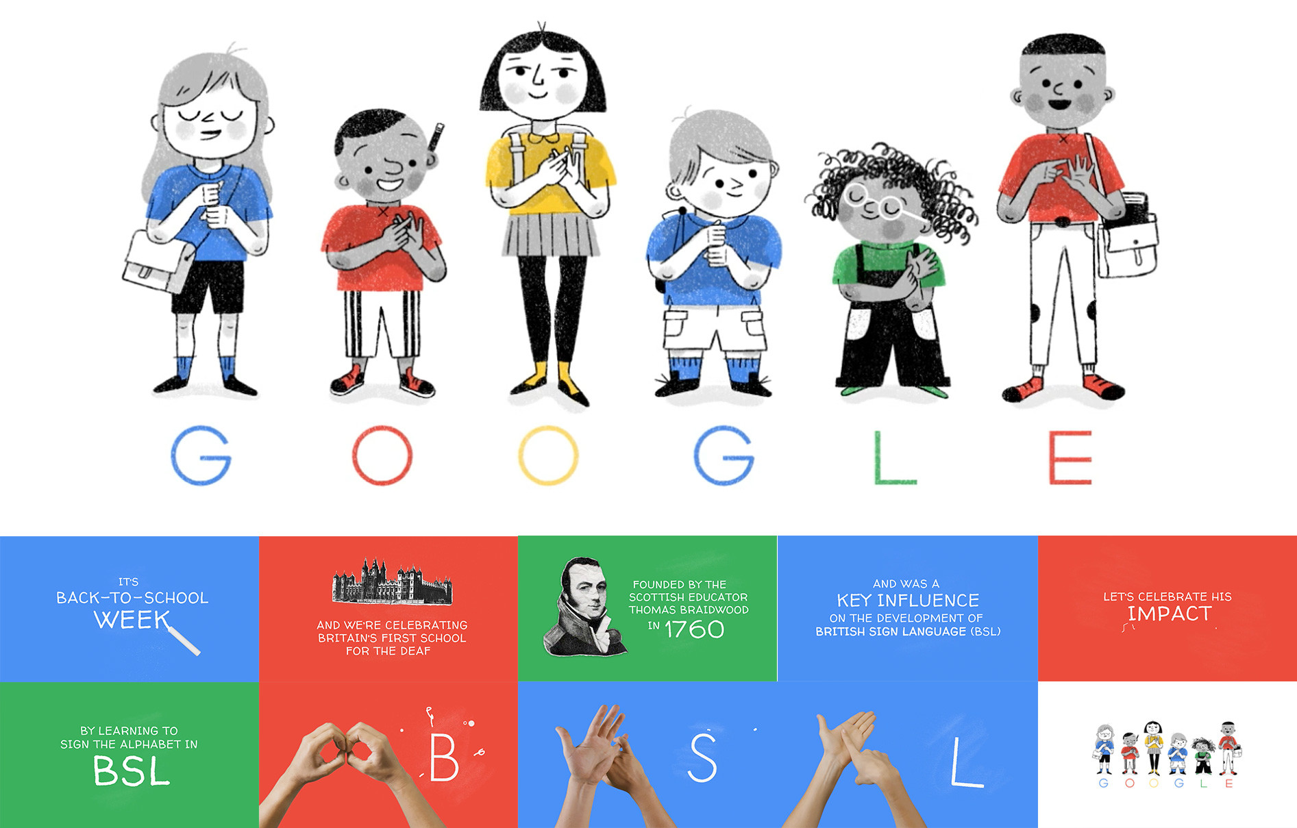 Google Doodle and video