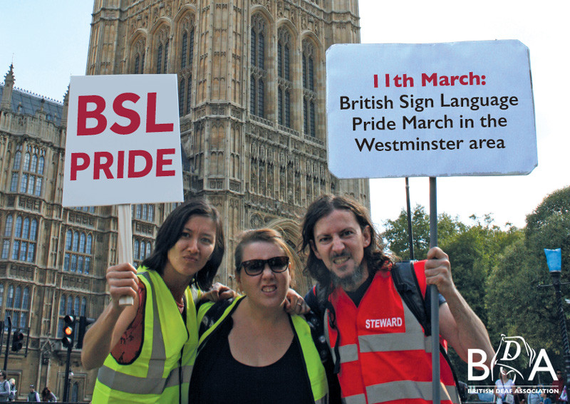 Save the date - BSL Pride march