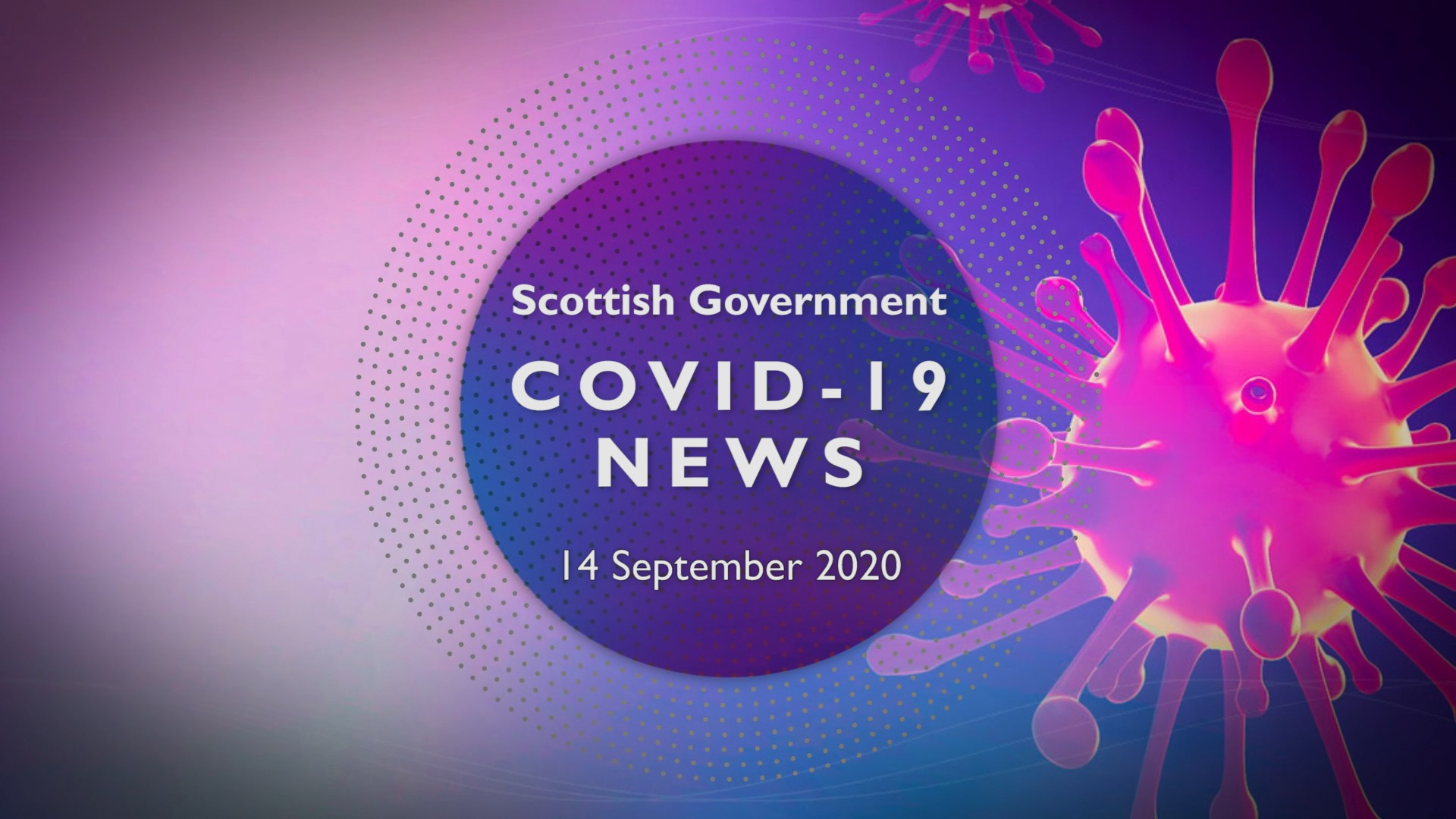 CV Update 14th September 2020