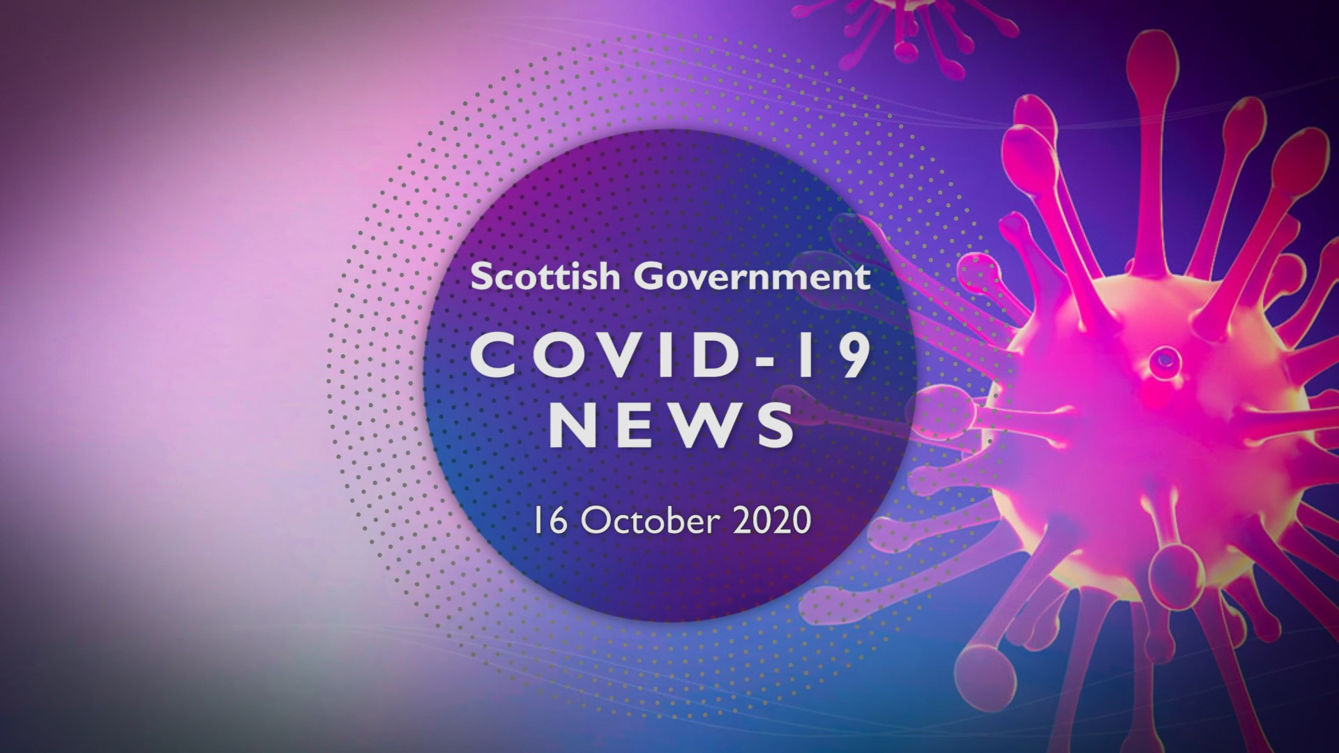 CV Update 16th October 2020