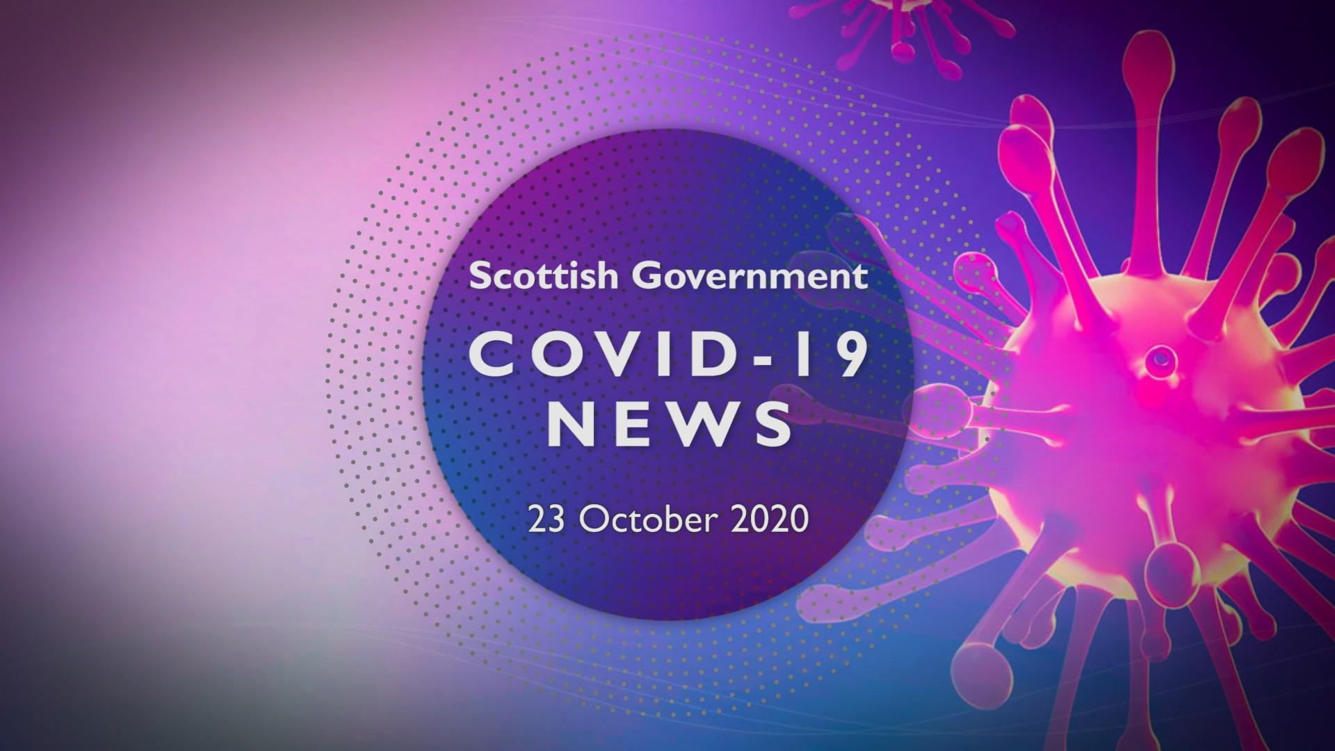 CV Update 23rd October 2020
