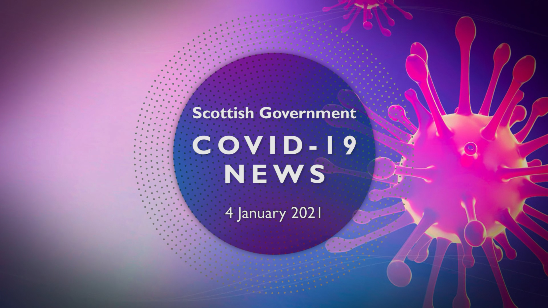 CV Update 4th January 2021